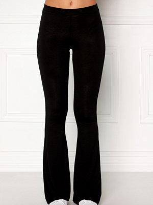 Bubbleroom svarta byxor Cozensa trousers