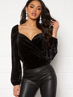 Ivyrevel Wrap Velvet Top