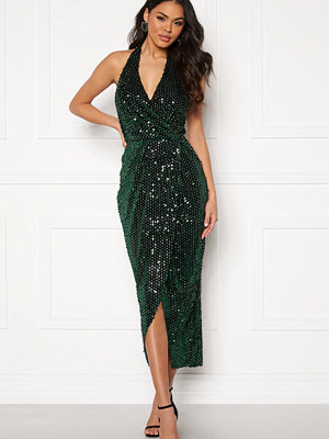 Girl In Mind Vera V Neck Sequin Dress