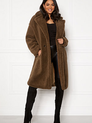 Blue Vanilla Oversized Teddy Coat