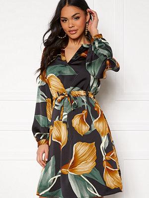 Object Fania l/s short dress