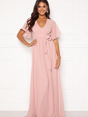 Bubbleroom Isobel dress Dusty pink
