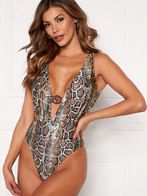 Chiara Forthi St Tropez swimsuit Animal print