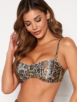 Chiara Forthi Messina bandau bra Animal print