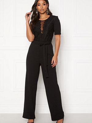 Jumpsuits & playsuits - Pieces Jackie 2/4 Lace Jumpsuit