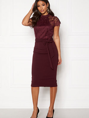 Girl In Mind Lyla High Neck Lace Dress