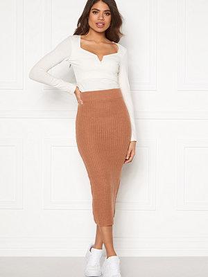 Ax Paris Rib Knit Midaxi Skirt