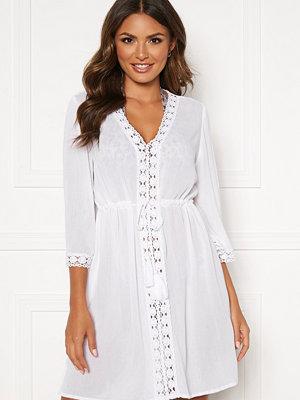 Happy Holly Sienna beach tunic White