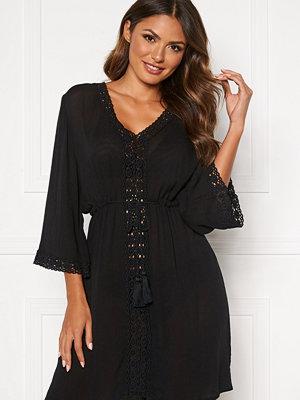 Happy Holly Sienna beach tunic Black