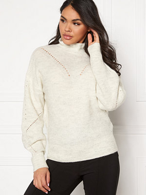 Selected Femme Inga LS Knit Frill-neck
