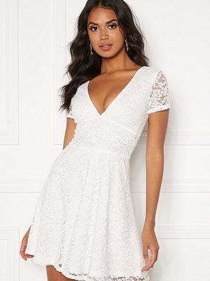Bubbleroom Lexi lace dress White