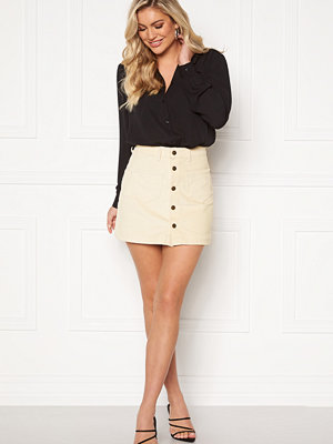 Only Amazing HW Corduroy Skirt Whitecap Gray