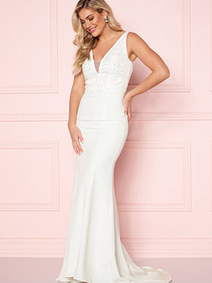 Chi Chi London Embroidered Bridal Dress