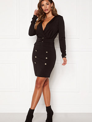 Chiara Forthi Rafaela blazer dress Black