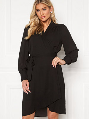 Selected Femme Alva LS Wrap dress