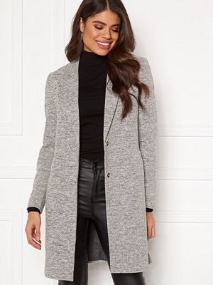 Only Carrie Mel Coat Light Grey Melange