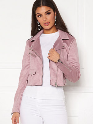 Only Sherry Crop Bonded Biker