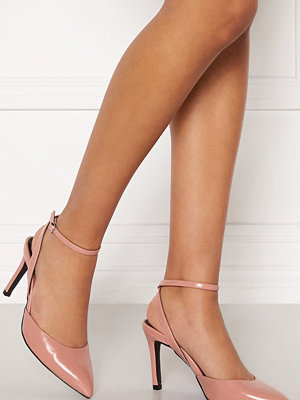 Only Peaches Pu Heeled Pump