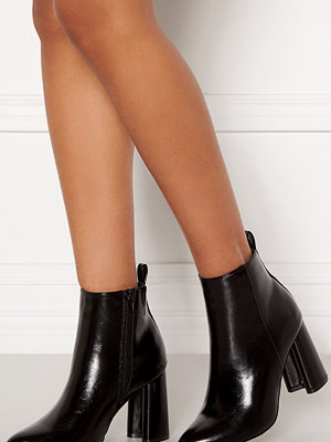Only Brodie Pu Heeled Boot Black
