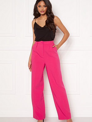 Ivyrevel rosa byxor Front Pleated Wide Pants