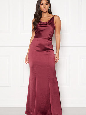 Chi Chi London Alexandria Satin Dress
