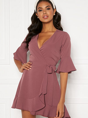 Bubbleroom Edie wrap dress