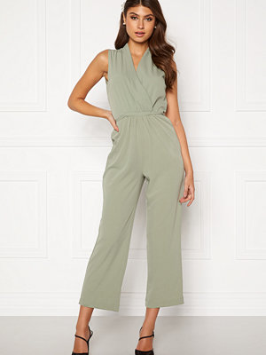 Bubbleroom Mirja jumpsuit Dusty green