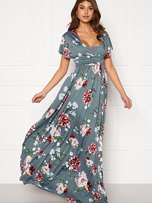 Bubbleroom Telma prom dress Blue / Floral