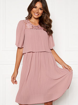 Happy Holly Jannica midi dress Dusty pink