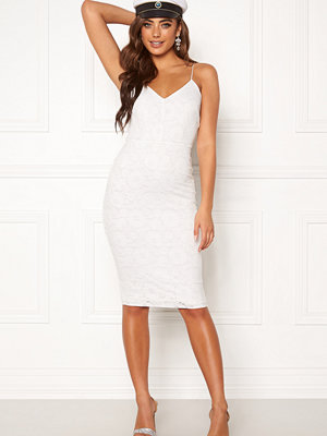 Bubbleroom Neoline lace dress White