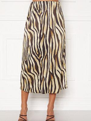 Kjolar - Bubbleroom Tyra skirt Tiger