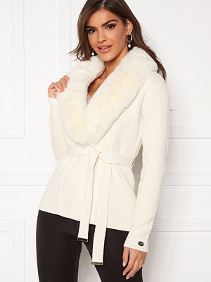 Chiara Forthi Arina heavy knit wrap jacket