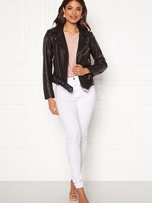 Pieces Nicoline Leather Jacket