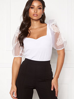 Bubbleroom Lucia organza top