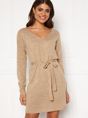Vila Suril L/S V-Neck Short Knit Dress