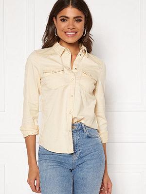 Vero Moda Maria LS Slim Shirt Birch