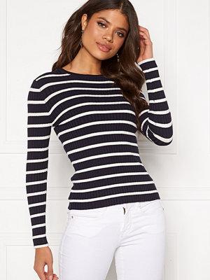 Only Natalia Stripe L/S Rib Pullover