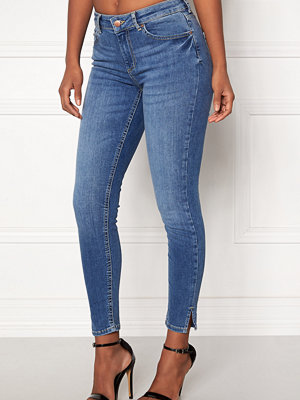Pieces Delly Crop Slit Jeans