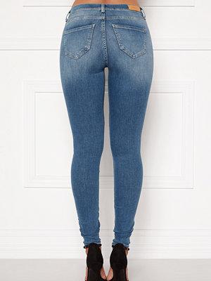 Only Shape Life Reg Sk Jeans Light Blue Denim