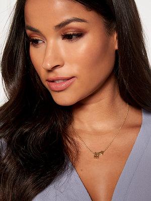 Bubbleroom halsband Heart letter necklace