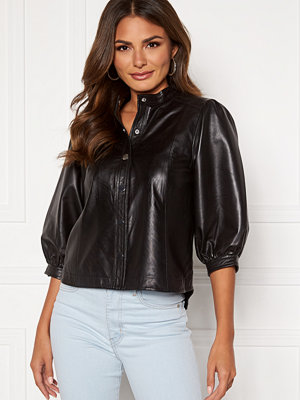 Skjortor - Selected Femme Milla Leather Shirt