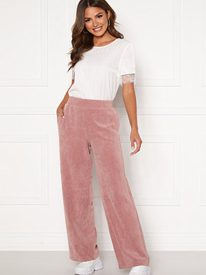 Only omönstrade byxor Alma-Nelle MW Wide Cord Pant