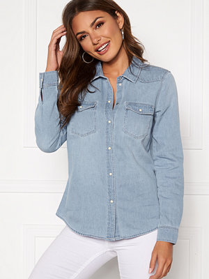 Vero Moda Maria LS Denim Slim Shirt