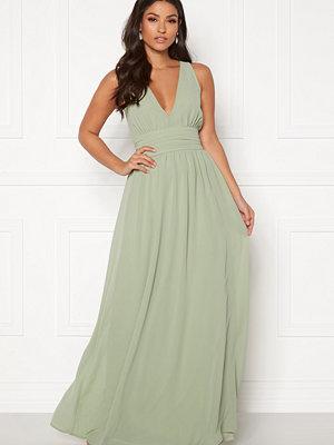 Bubbleroom Hampton dress Dusty green