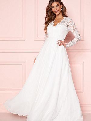 Chiara Forthi Kate lace gown White