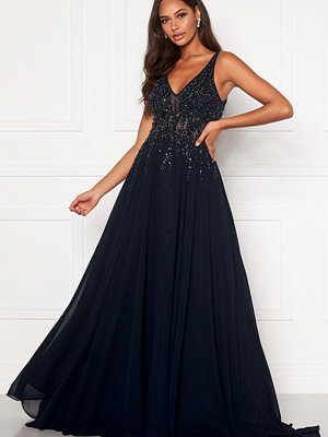 Christian Koehlert Sparkling Chiffon Dress