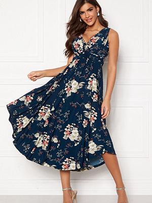 Chiara Forthi Valeria Dress Navy / Floral