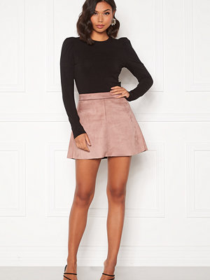 Only Linea Faux Suede Bonded Skirt