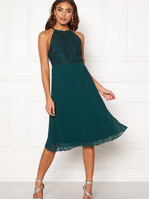 Moments New York Casia Pleated Dress Green
