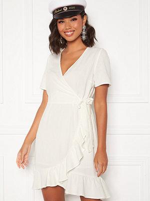 Vero Moda Helenmilo S/S Wrap Dress Wvn Lcs